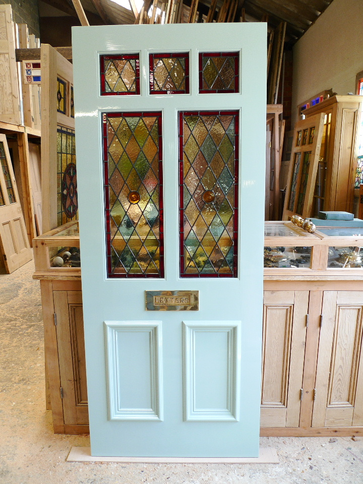 A Victorian Style Stained Glass Front Door Stained Glass