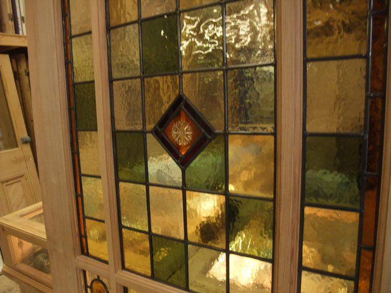 Stained Glass Interior Vestibule Door Stained Glass