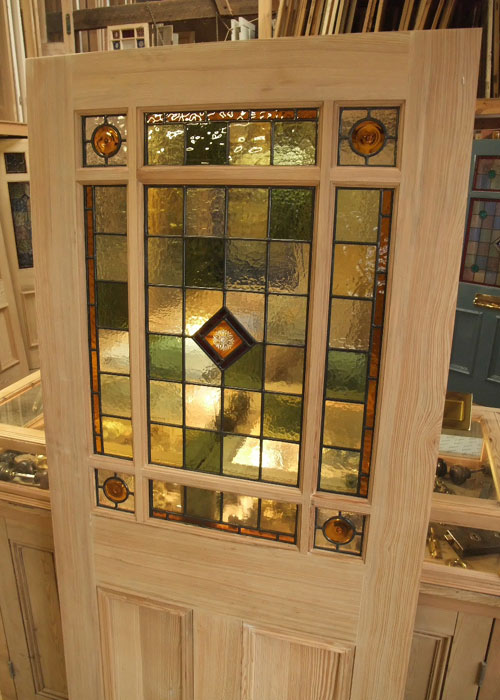 Stained Glass Interior Vestibule Door Stained Glass Doors Company