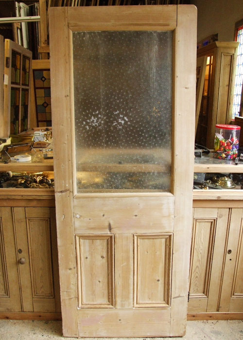 Salvaged 1930 39 s front door stained glass doors company for 1930s front door furniture