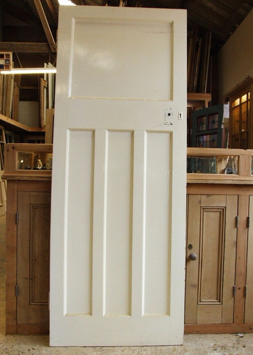 Antique Pine 1930 S Internal Door Stained Glass Doors