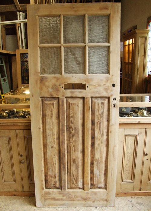 Reclaimed Pine External Edwardian Front Door