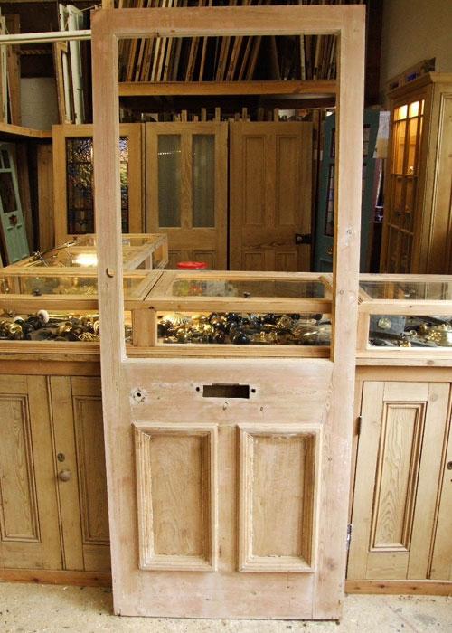 Reclaimed Pine Edwardian Front Door