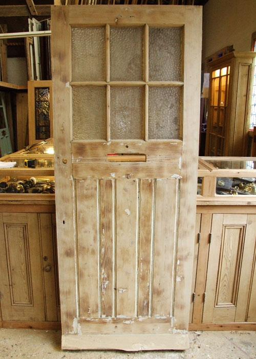 External Glazed Pine Edwardian Front Door