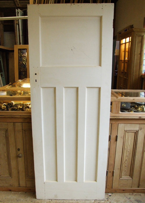 One Over 3 Panels Pine Edwardian Internal Door