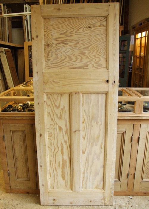 Stripped Pine Pine Edwardian Internal Door & Stripped Pine Pine Edwardian Internal Door - Stained Glass Doors Company