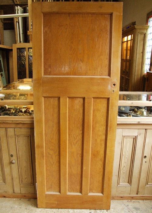 Original Edwardian Internal Door Stained Glass Doors Company