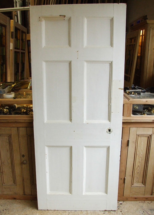 Reclaimed Pine Georgian Door & Reclaimed Georgian Six-Panel Doors