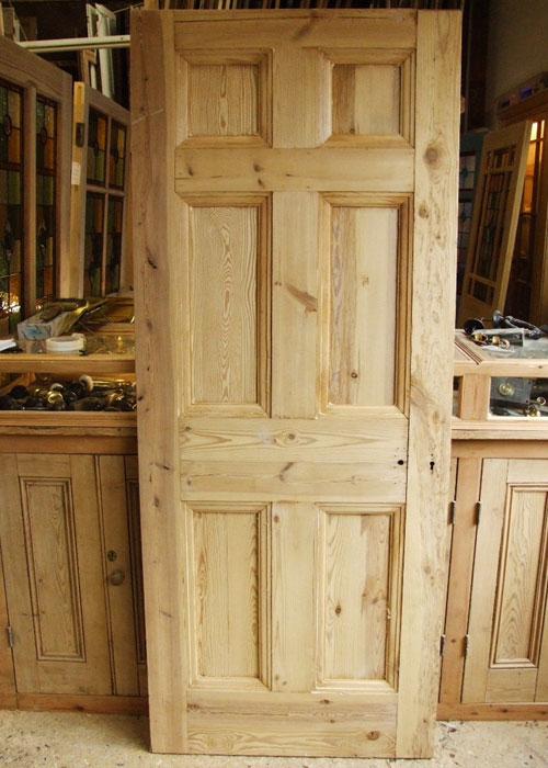 Reclaimed Pine Georgian Door