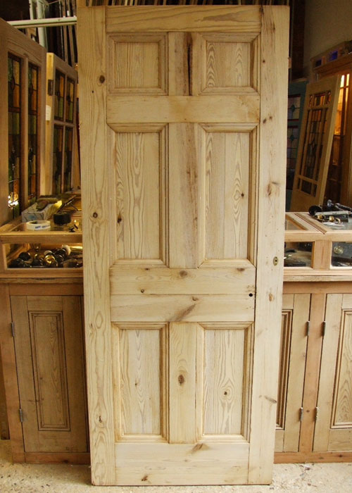 Reclaimed Pine Georgian Door