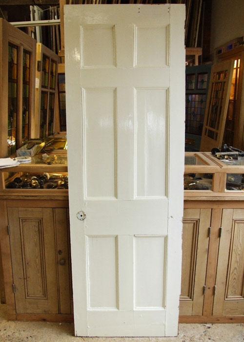 Painted Six Panel Georgian Door