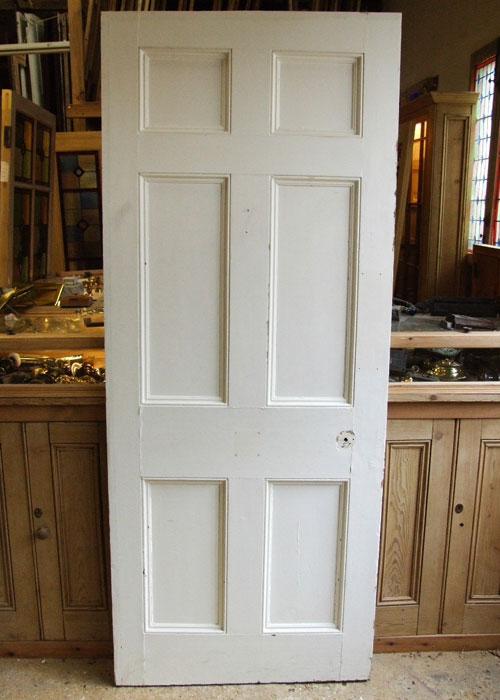 A Nice Georgian Painted Door