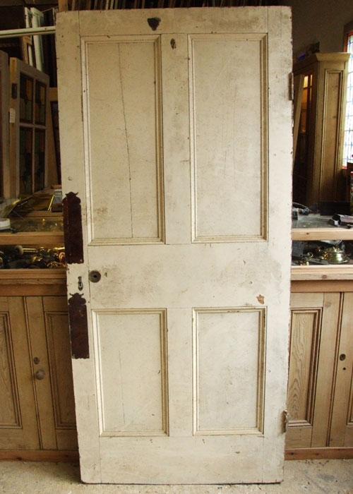 A Nice Four Paneled Georgian Door