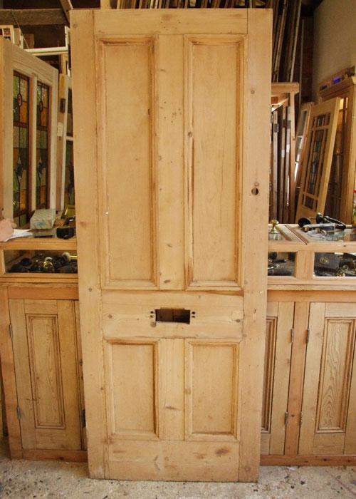 Reclaimed Pine Victorian Front Door