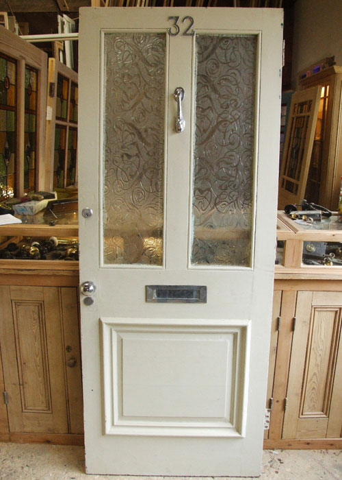 Old Victorian Front Door Stained Glass Doors Company
