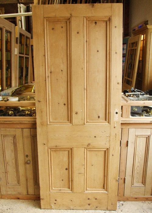 Period Pine Victorian Front Door