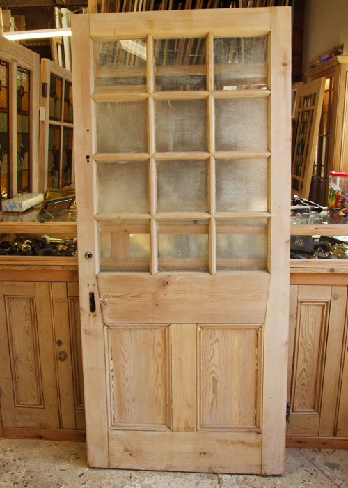 Salvaged Victorian Front Door