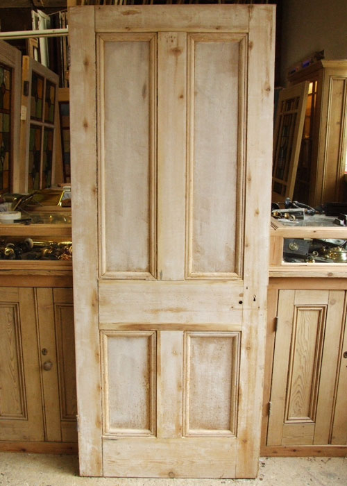 Victorian Pine Internal Door Stained Glass Doors Company