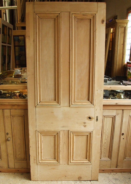 Old Pine Victorian Internal Door Stained Glass Doors Company