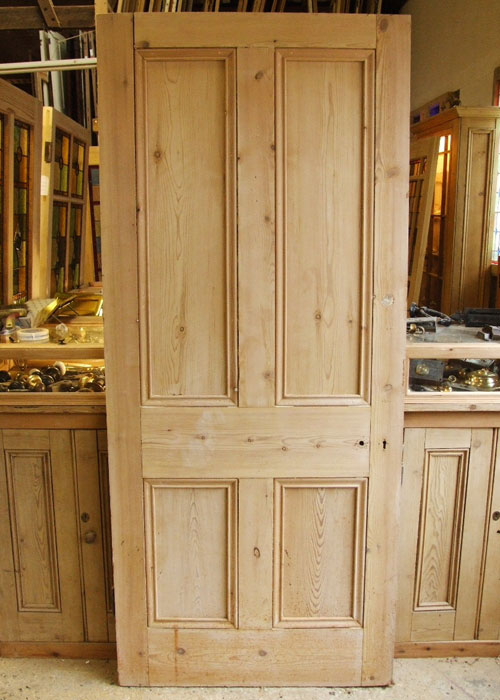 Old Pine Victorian Internal Door