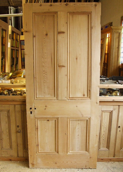 Four Paneled Victorian Internal Door