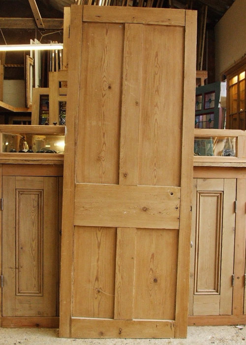 Four Plain Paneled Victorian Internal Door