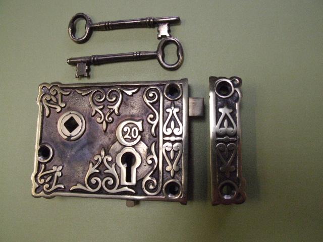 Rothley Small Brass Rimlock