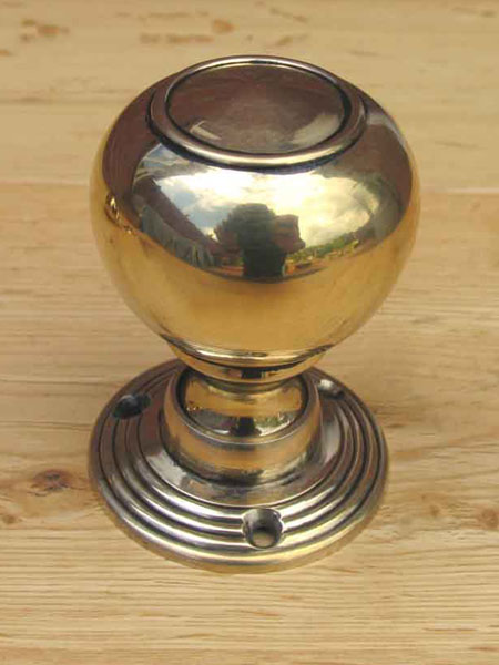 Solid Brass Tulip Door Knobs