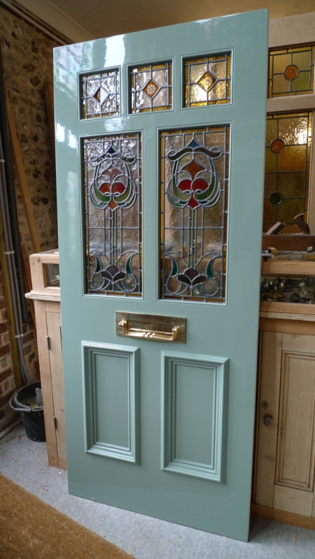 exterior door stained glass. art nouveau stained glass door front exterior the doors company