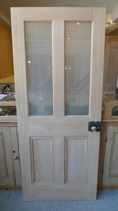 Half Glazed Interior Engineered Oak Door