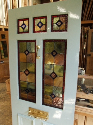 Stained Glass Doors Victorian Edwardian Glazed Front
