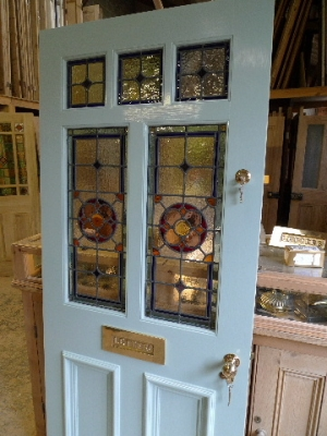 Stained Gl Doors Victorian