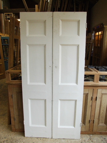 Salvaged Victorian Cupboard Doors Stained Glass Doors