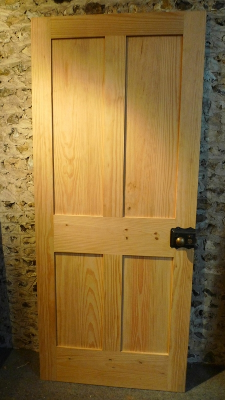 Shaker cottage or london plain style pine  door