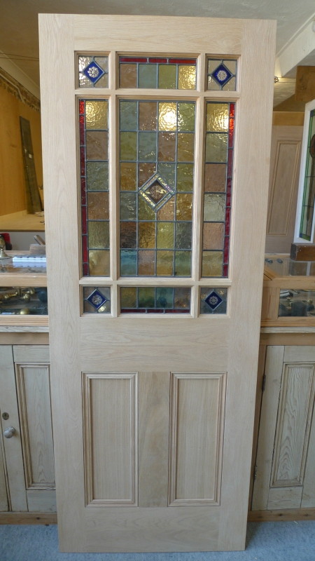 Stained Glass Interior Vestibule Door