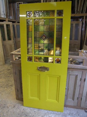 Victorian Style Stained Glass Front Door Stained Glass